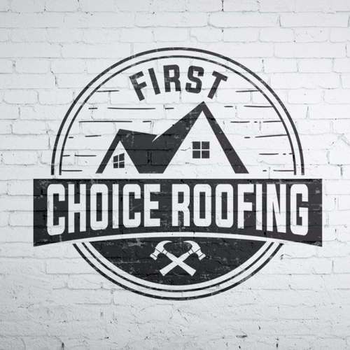 Roofing logo with the title 'roofing logo'