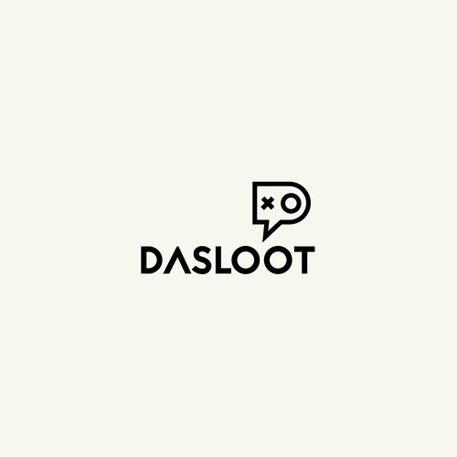 Twitch logo with the title 'dasloot for twitch gaming'