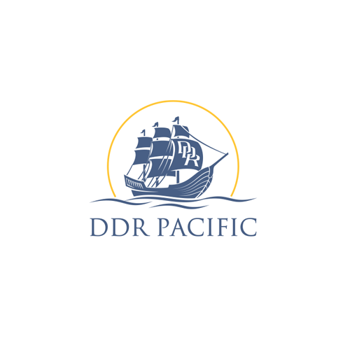 Pacific design with the title 'Logo concept for DDR Pacific'