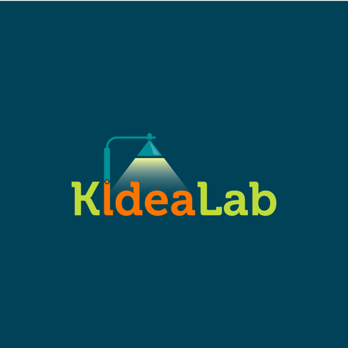 Lab design with the title 'Logo for social product development platform'