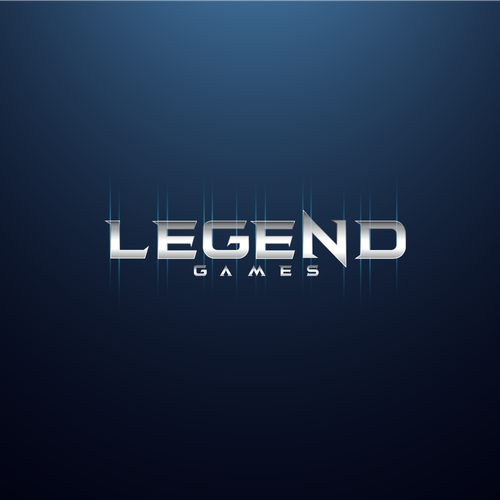 Gamer design with the title 'Legend'