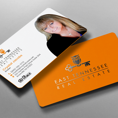 business card design for real estate business