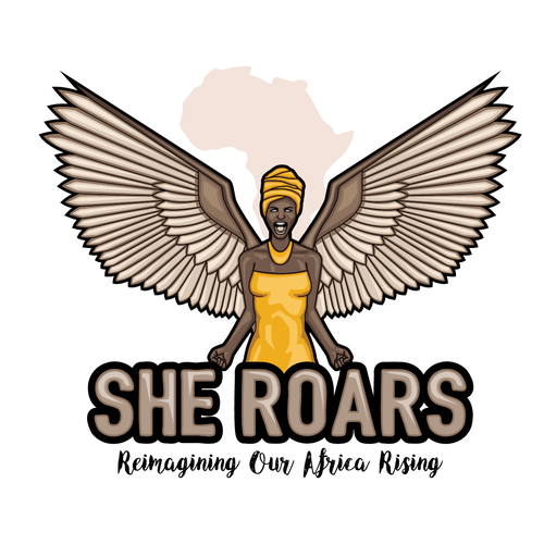 Community brand with the title 'Logo for empowerment of female leaders'