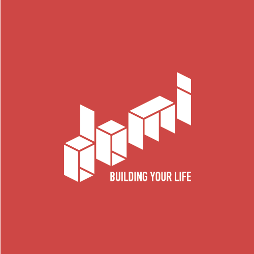 Block logo with the title 'Domi logo proposal'