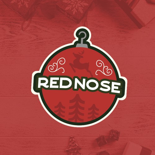 Reindeer logo with the title 'Ornaments'