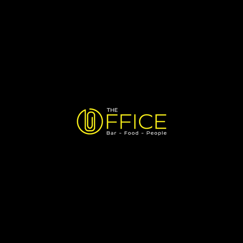Clip design with the title 'logo concept for The Office'