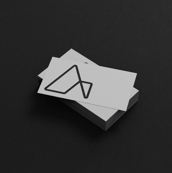 Architect logo with the title 'Logo design for an architecture and design studio'