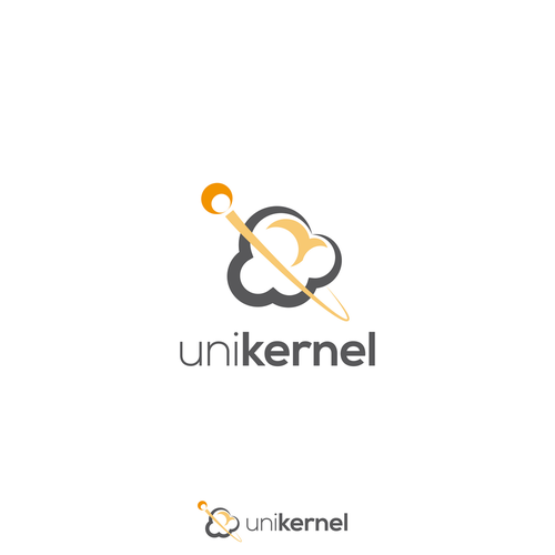 Popcorn logo with the title 'Unikernel'