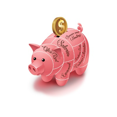 Pig-chart Illustration