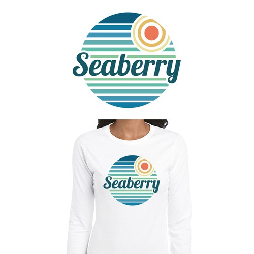 Sea t-shirt with the title 'Seaberry Apparel.'
