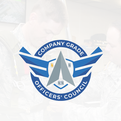 Force logo with the title 'Logo concept for company grade officers council'