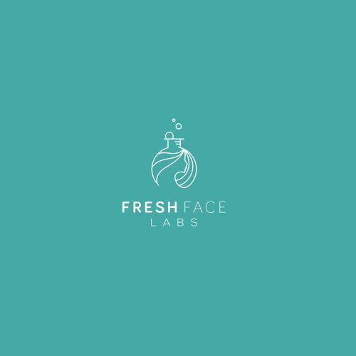 Cosmetics design with the title 'Fresh Face'