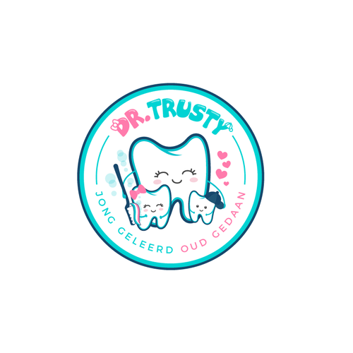 Kids brand with the title 'Logo De. Trusty'