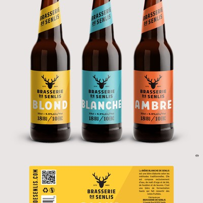 Label Design for a Craft Beer Co