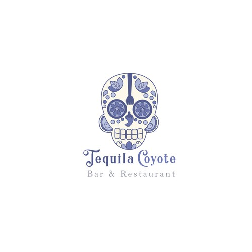 Tequila logo with the title 'Tequila Coyote'