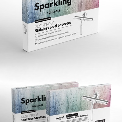 Premium packaging box for squeegee