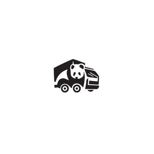 Melbourne design with the title 'Panda Man and Truck'