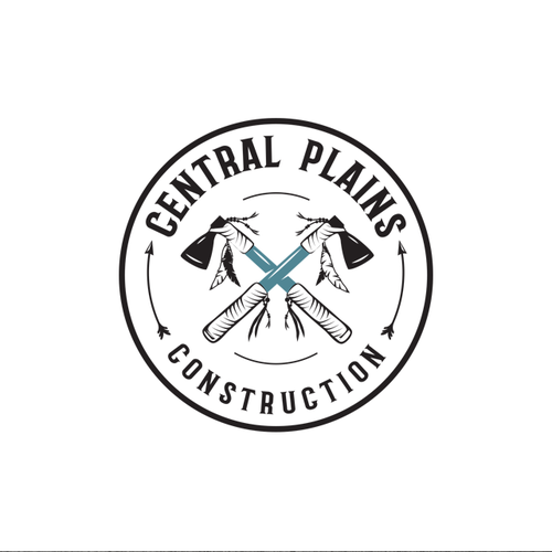 Construction design with the title 'Logo for Central Plains'