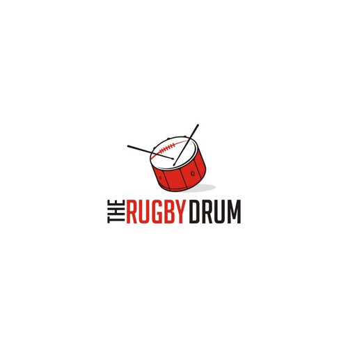Beat logo with the title 'the rugby drum'