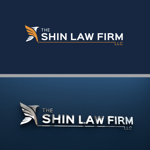 Marketing brand with the title 'logo law firm'