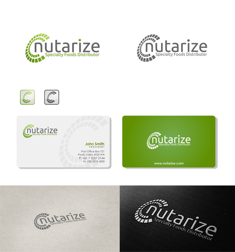 New design with the title 'Nutarize'