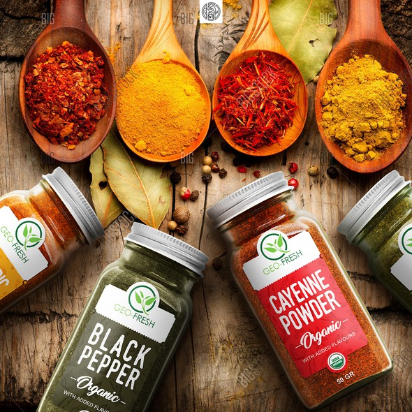 Spice Labels: the Best Spice Label Design Ideas | 99designs