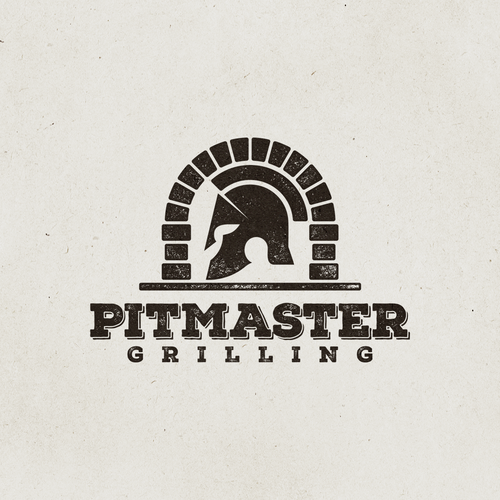 Cooking design with the title 'Logo design for Pitmaster Grilling'