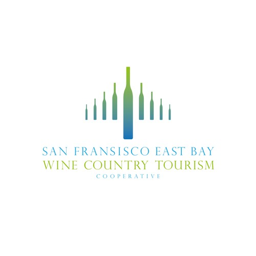 Airport design with the title 'San Francisco East Bay & Wine Country Cooperative'