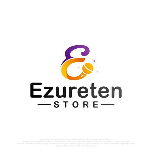 Pen tool logo with the title 'Ezure Ten'
