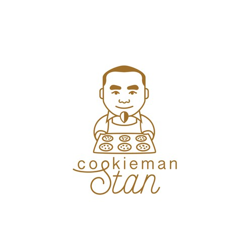 Delicious design with the title 'Logo for Cookieman Stan'