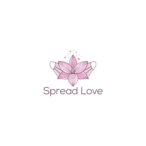 Protect logo with the title 'Design this logo and spread you love'