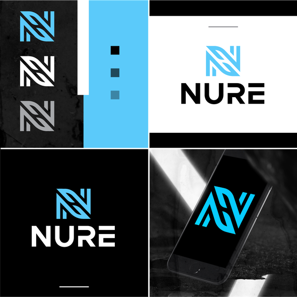 N logo with the title 'NURE'