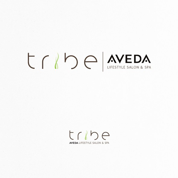 Lifestyle logo with the title 'Create the next logo for Tribe'