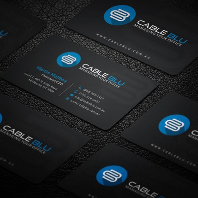 Modern Sleek Business Card