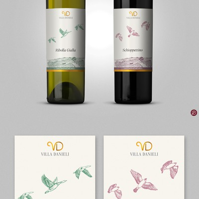 Wine label design contest winner