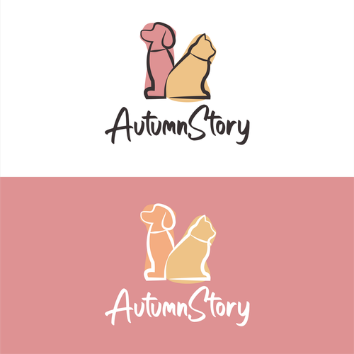Fall logo with the title 'AutumnStory'