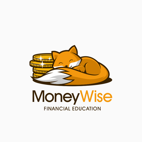 Coin logo with the title 'MoneyWise'