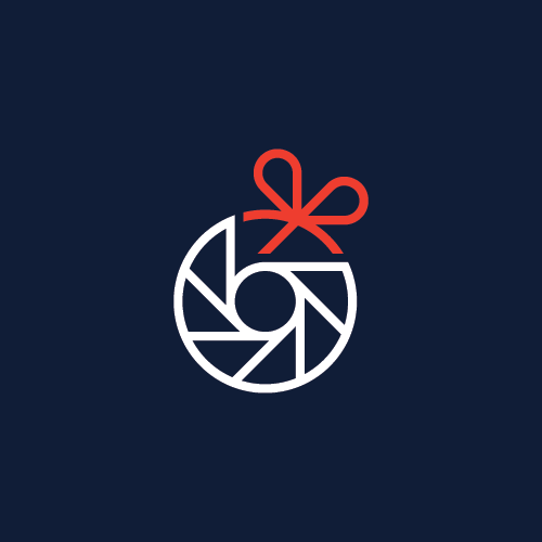 Aperture logo with the title 'Photo gift'