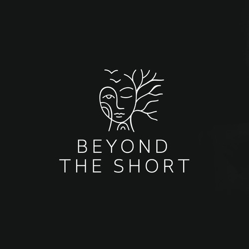 Cinematographer and cinematography logo with the title 'Beyond The Short Logo'