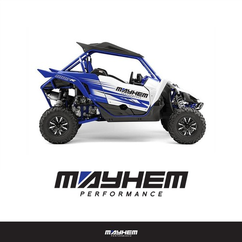 Off roading logo with the title 'Mayhem Performance Logo Design'