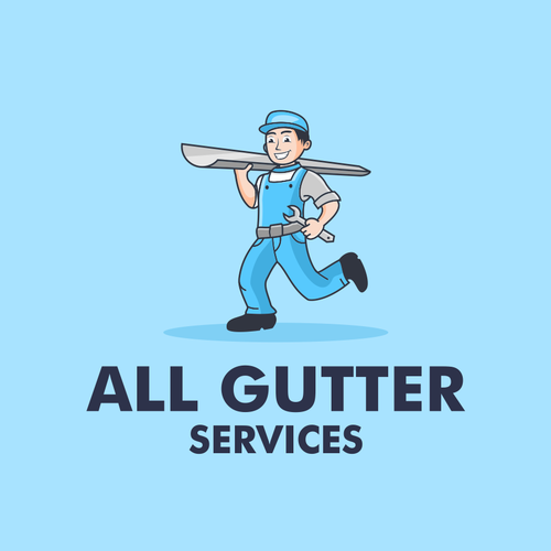 Engineering logo with the title 'All Gutter Services'