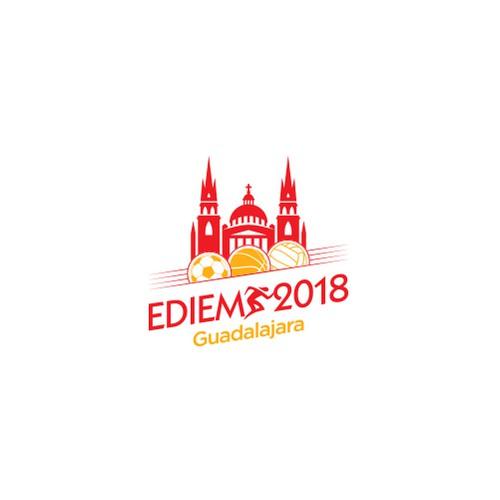Scaffolding logo with the title 'EDEIM 2018, Guadalajara '