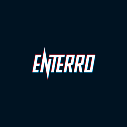 House music logo with the title 'Enterro'