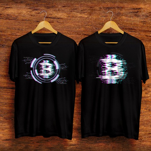 Cryptocurrency t-shirt with the title 'Cyvber Bitcoin 3.0'