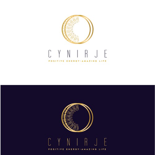 """High-end logo with the title 'Create a """"Positive Energy"""" logo for Cynirje'"""