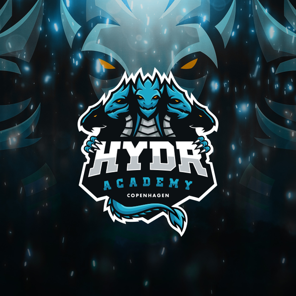 Sports brand with the title 'eSports Logo'