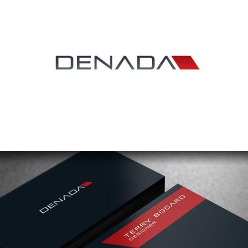 Dog house logo with the title 'DENADA'