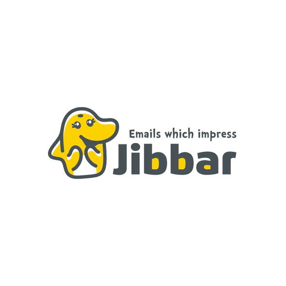 Impressive logo with the title ''Impressive' logo for a business SaaS'