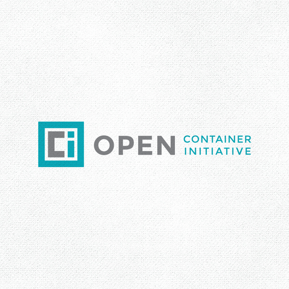 Container design with the title 'OCI'