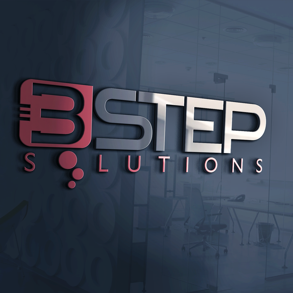 Bubble logo with the title '3 STEP SOLUTIONS'